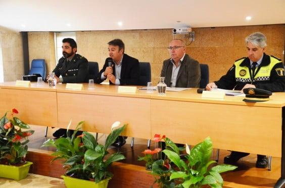 José Chulvi en la inauguración de las Jornadas de Seguridad