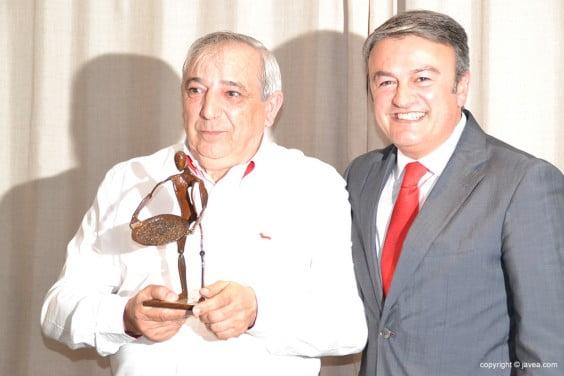 Tomás Franco con José Chulvi