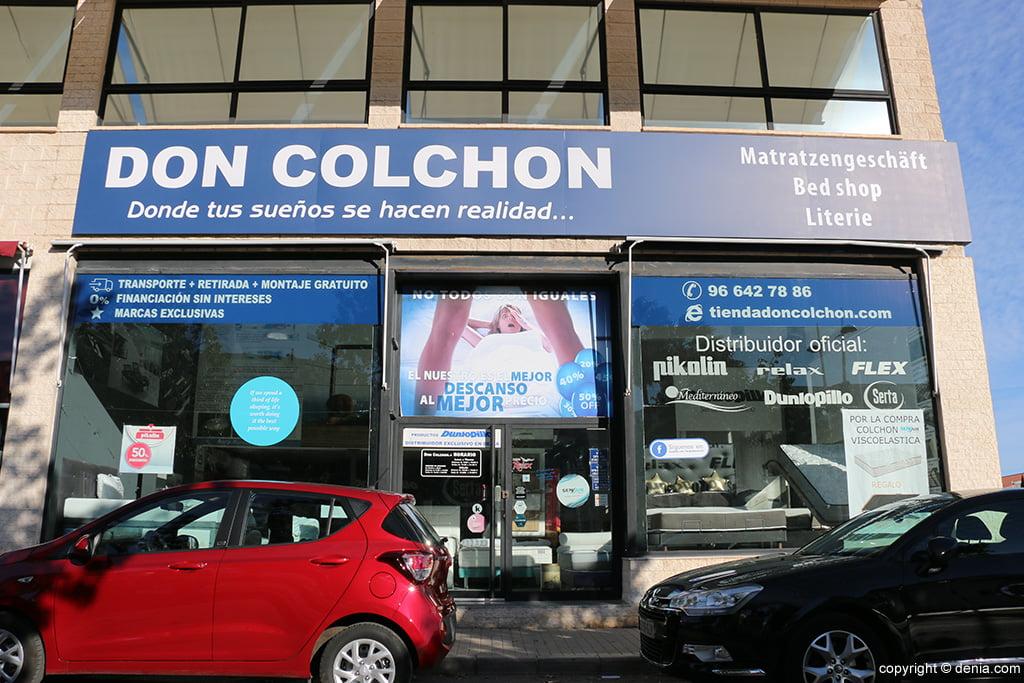 Don Colchón tienda Denia