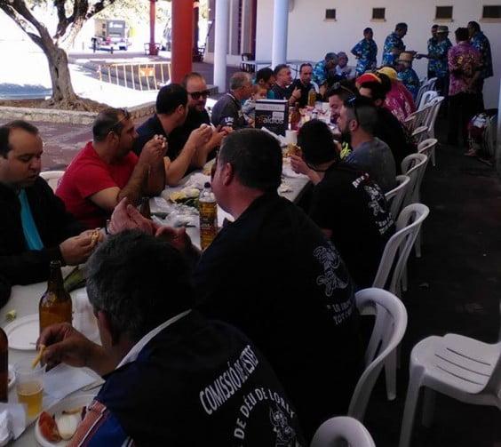 Almuerzo de la Comisió de Festes Mare de Deu de Loreto