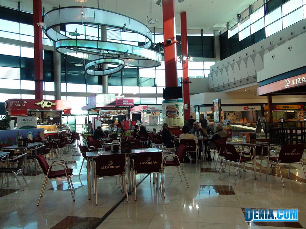 Portal de la Marina Centro commerciale, Area di servizio e ristorante