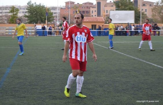 Dani García jugador del CD. Jávea