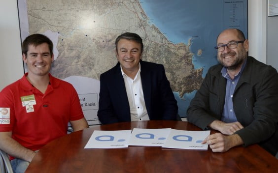 José Chulvi junto a Andarias y Henarejos