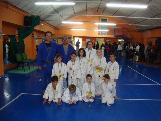 Judocas del Dojo-Do Jávea en el torneo de Valencia