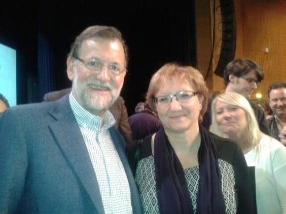 Teresa Ern amb Mariano Rajoy