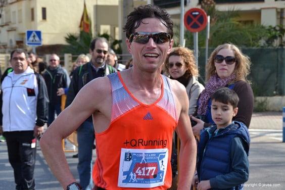 Vencedor de la prueba Felix Pons