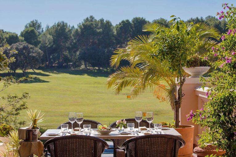 Terraza La Sella Golf Resort Dénia