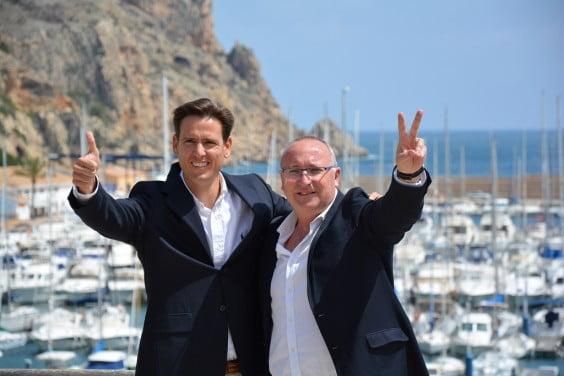 Óscar Antón y Juan Ortolá