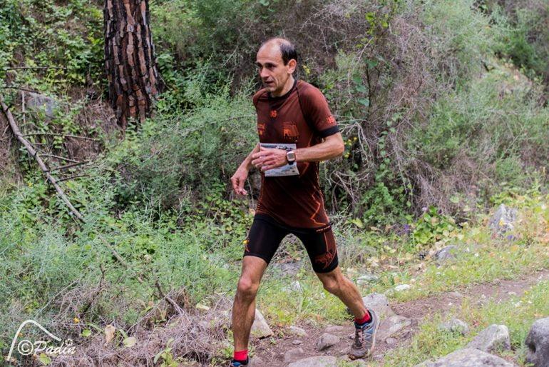Ignacio Cardona en el Nacional de Carrera de Montaña