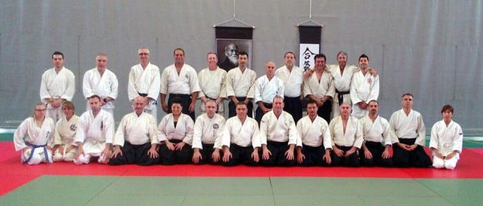 Participantes del curso de Aikido de Jávea