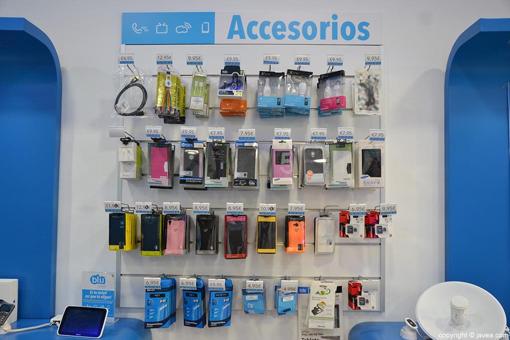Accesorios Blu