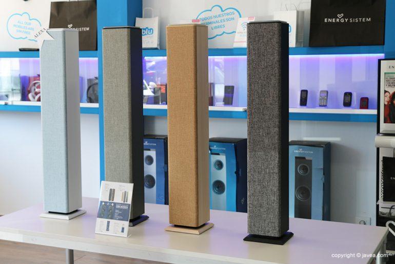 Alto-falantes do sistema de energia - Blu
