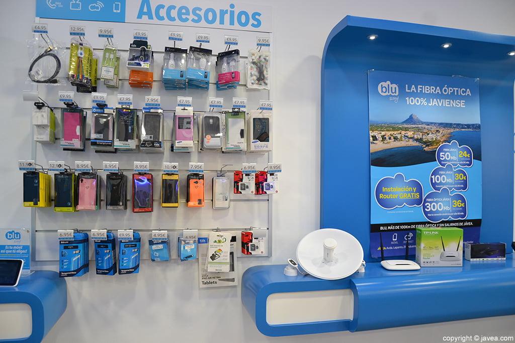 Blu accesorios