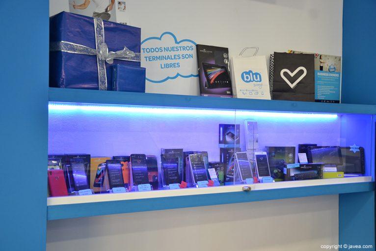 Productos Blu