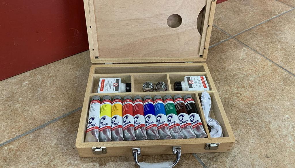 Sorteo de una caja de óleos Van Gogh – Decorxàbia
