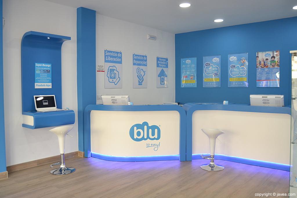 tienda blu