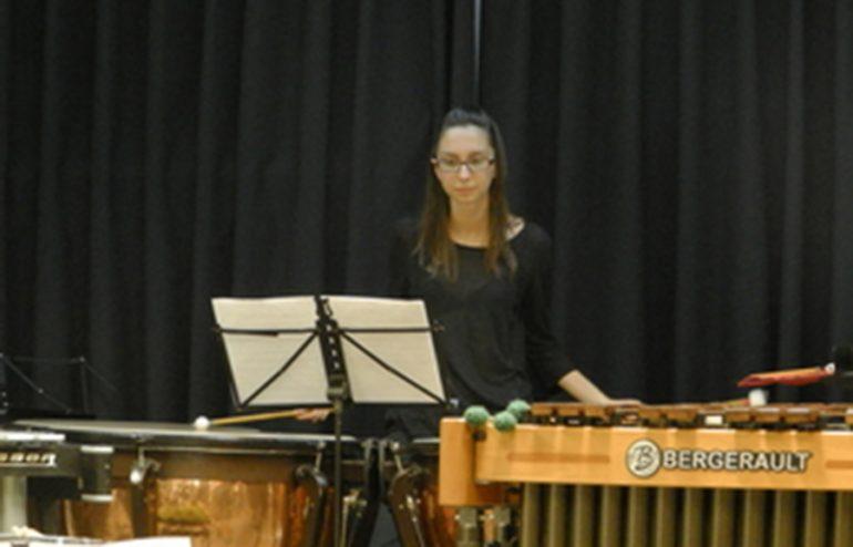 Alumna del Conservatorio de Música de Jávea.