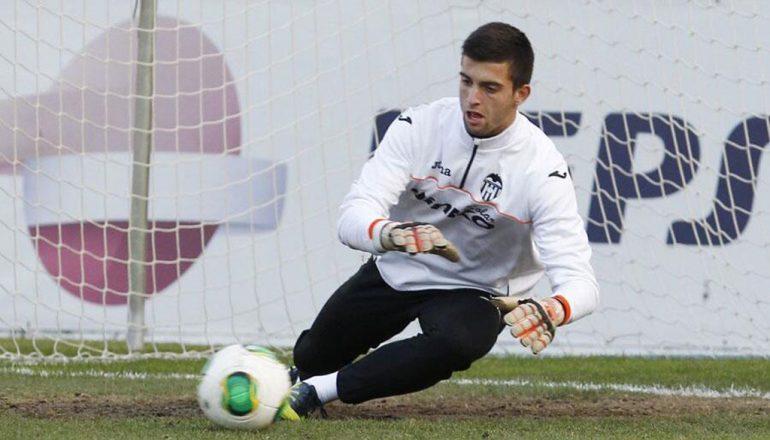 Antonio Sivera portero del Valencia