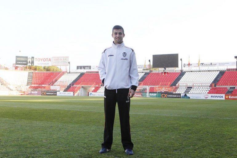 Antonio Sivera portero javiense convocado con la Selección Española Sub 19