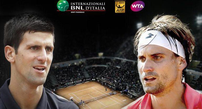 Anuncio del Djokovic- Ferrer en Roma