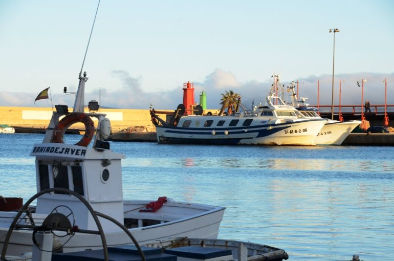 Barcas del puerto de Jávea