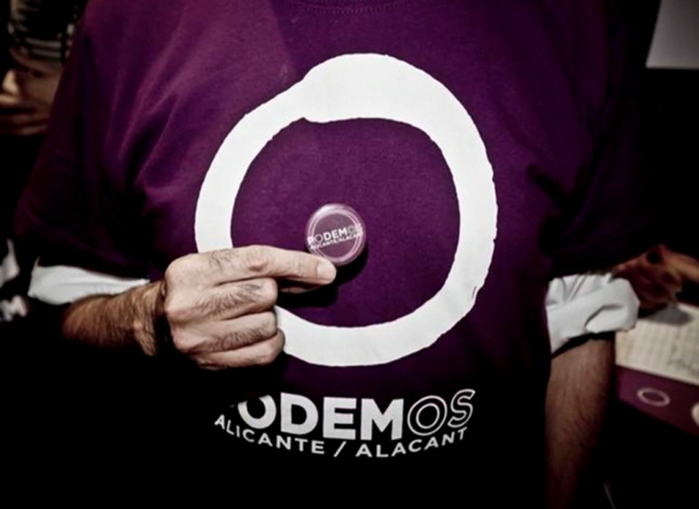 Camiseta de Podemos