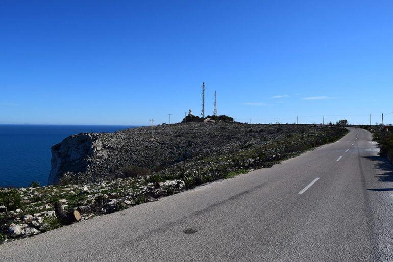 Carretera del Faro del Cabo San Antonio