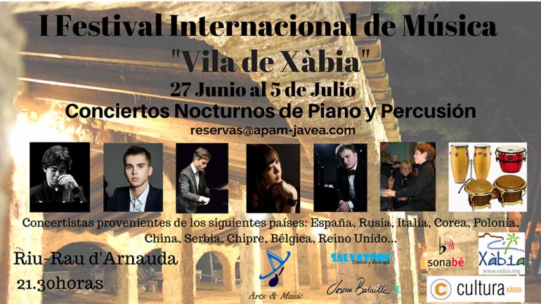 Cartel  Festival de Musica de Xabia