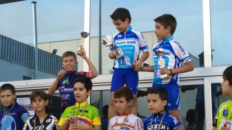David Ivars en el podium de Guardamar