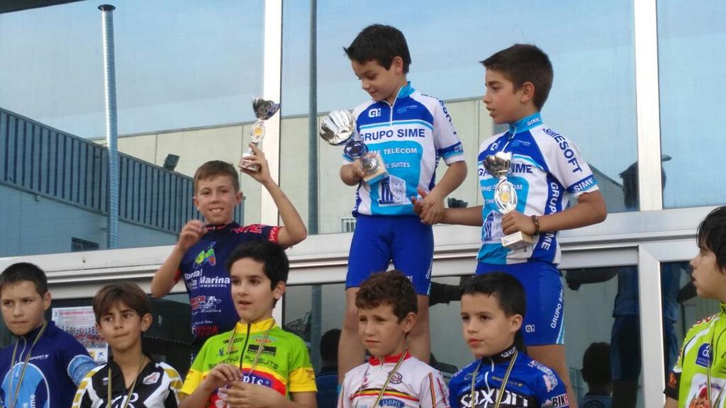 David Ivars en el podium de Guardamar