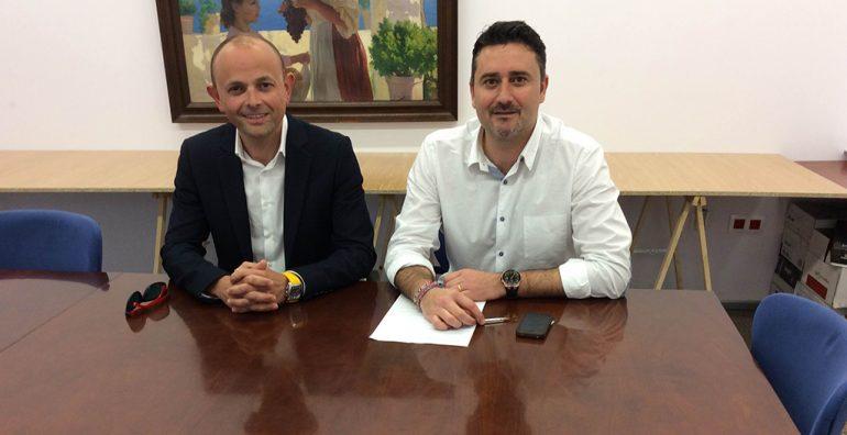Emilio Senti y Juan Luis Cardona Xàbia