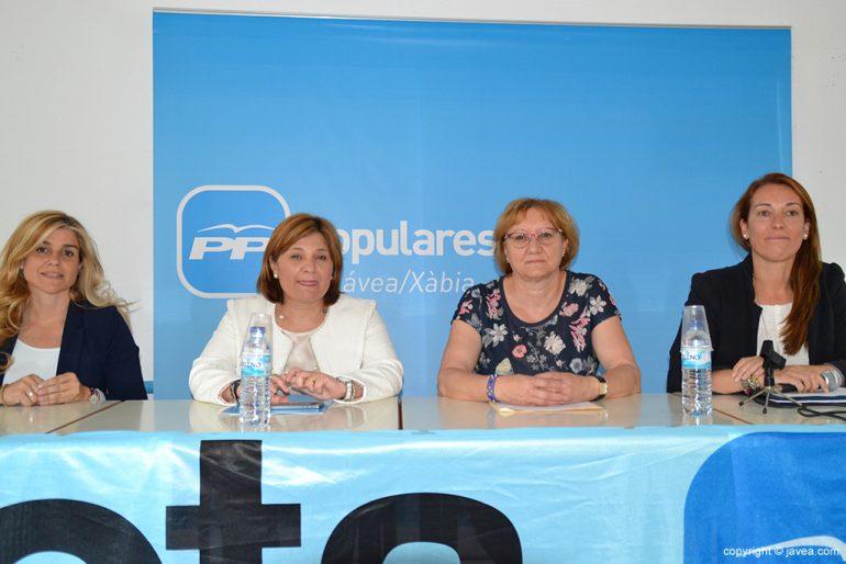 Encuentro de mujeres del PP en Jávea