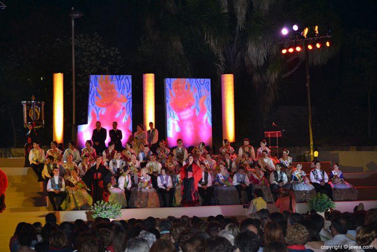 Proclamación de Fogueres de Sant Joan 2014