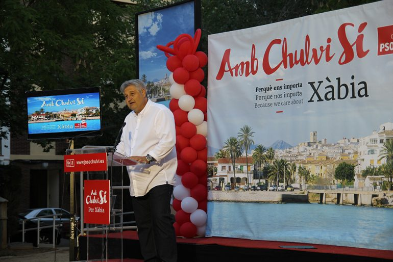 Quico Moragues habló de cultura en su discurso