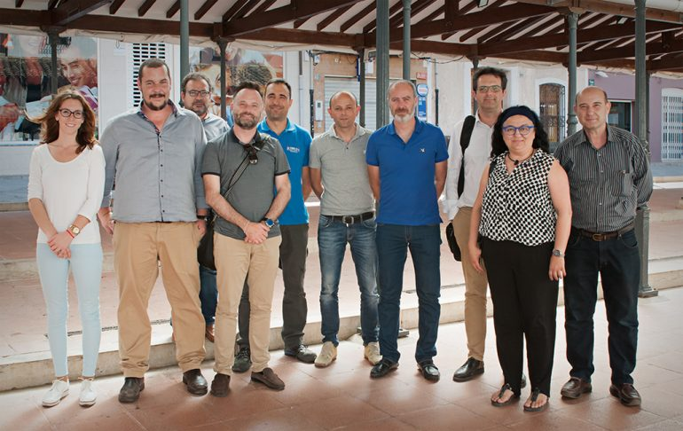 Reunión de Empresarios en Pedreguer