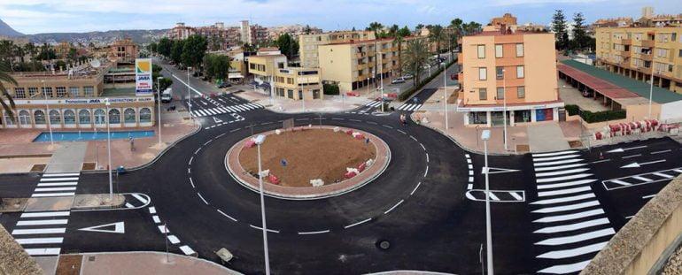 Rotonda Crta. del Pla- Avd. Arenal de Jávea