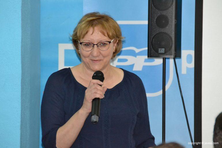 Teresa Ern cabeza de lista del Partido Popular