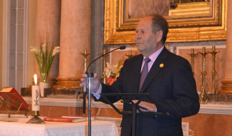 Vicente Tur presidente de la Cofradía del Nazareno