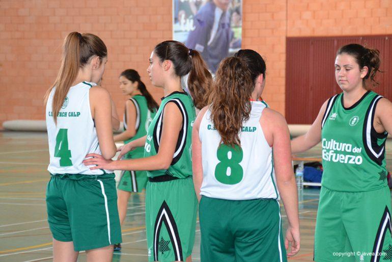 partido de liga junior entre el Joventut Xàbia y el Calpe