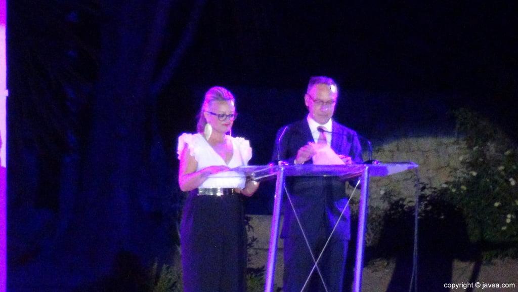 Proclamación Fogueres Xàbia 2015 – presentadores