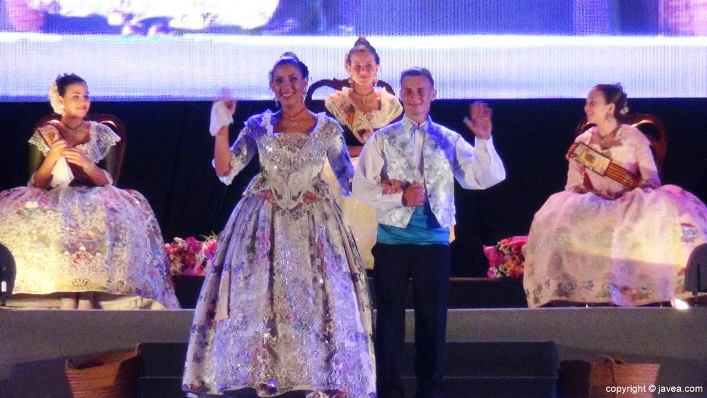 Proclamación Fogueres Xàbia 2015 – Quintà 2015 A Grapats
