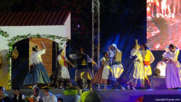 Proclamación Fogueres Xàbia 2015 - Danzas populares