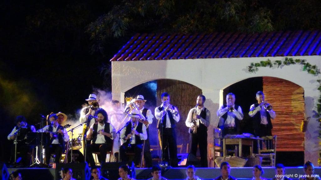 Proclamación Fogueres Xàbia 2015 – Grupo de música