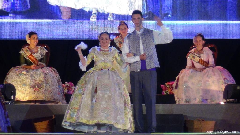 Proclamación Fogueres Xàbia 2015 – Primera dama de honor