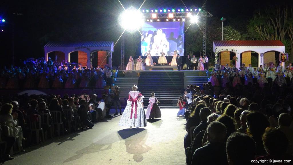 Proclamación Fogueres Xàbia 2015 – Reina de la foguera
