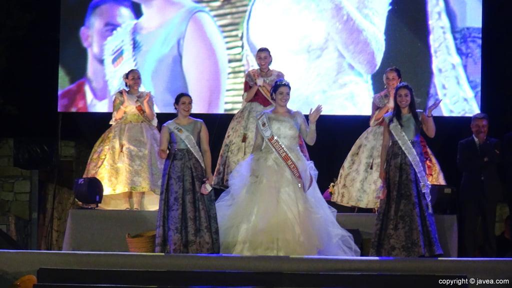 Proclamación Fogueres Xàbia 2015 – Representantes de las fiestas de Benissa