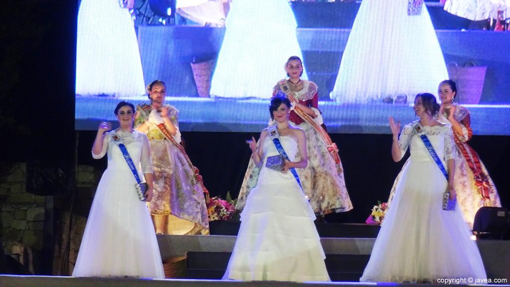 Proclamación Fogueres Xàbia 2015 – Representantes de las fiestas de Poble Nou de Benitatxell