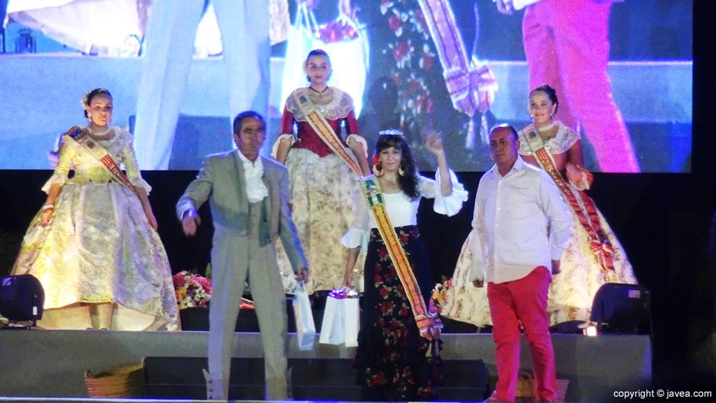 Proclamación Fogueres Xàbia 2015 – Reina rociera de Xàbia