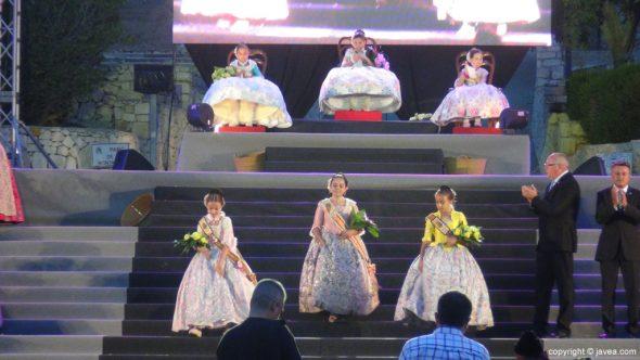 69 Proclamación infantil Fogueres Xàbia 2015 - reinas y damas
