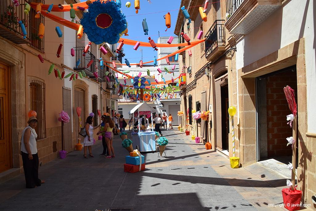 Calle Jesús Nazareno ganadora por su engalamiento
